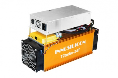 ASIC INNOSILICON Terminator 2 Turbo  (T2T) Miner 24 TH/s